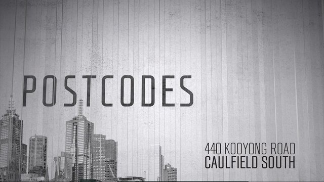 Postcodes - Episode 39 - 440 Kooyong Road, Caulfield South