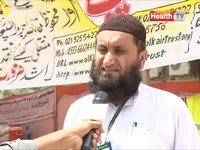 Alkhair News on Health TV: Fund raising camp at SITE area Karachi for flood affectees of Inerior Sindh, Punjab and Balochistan