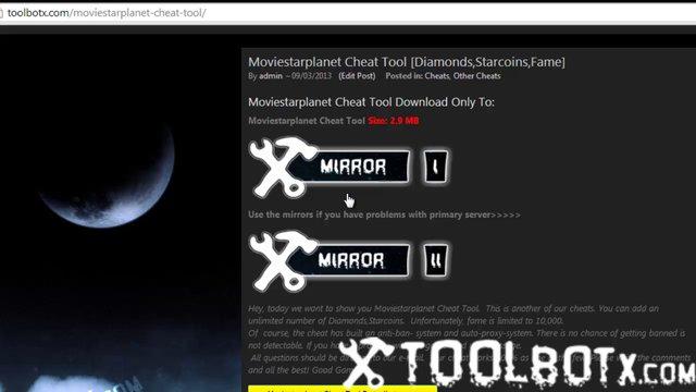 Moviestarplanet Cheat Tool [Diamonds,Starcoins,Fame]