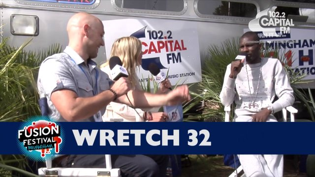 Fusion Festival 2013 - Wretch 32 Backstage Interview