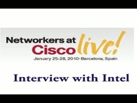 Cisco Live - Interview with Intel