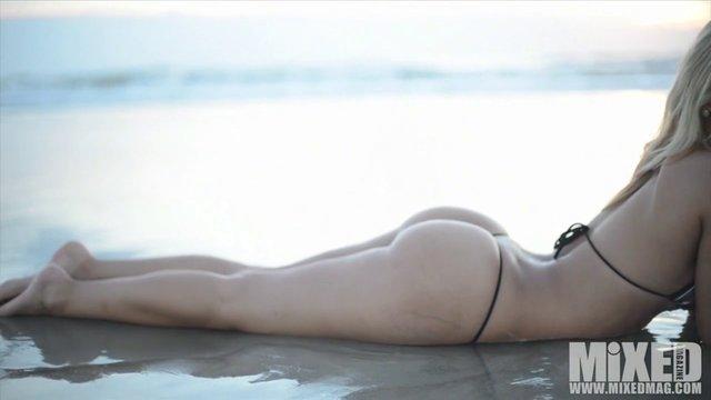 Laura Moro Sexy Thong Bikini