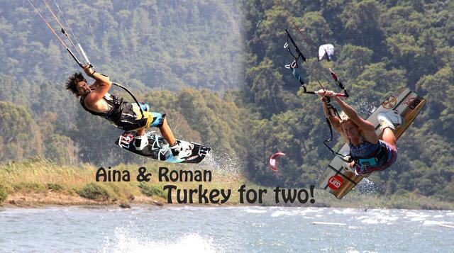 Aina & Roman - Turkey for two!