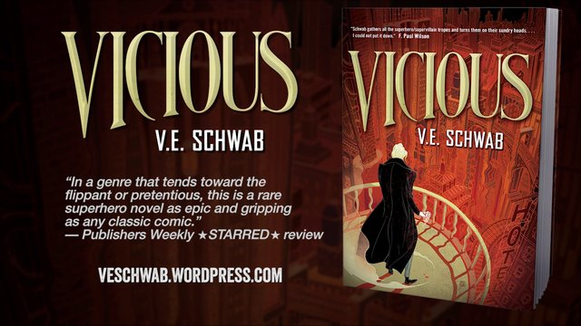 Ten Questions About Vicious, By V.E. Schwab