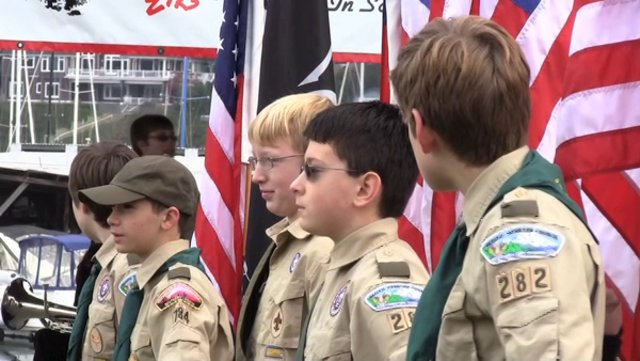Gig Harbor Boy Scouts Celebrate Veterans Day
