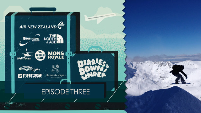 Diaries Downunder Episode 3 - August Snowboarding Circus!