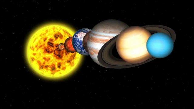 pre made solar system - photo #42