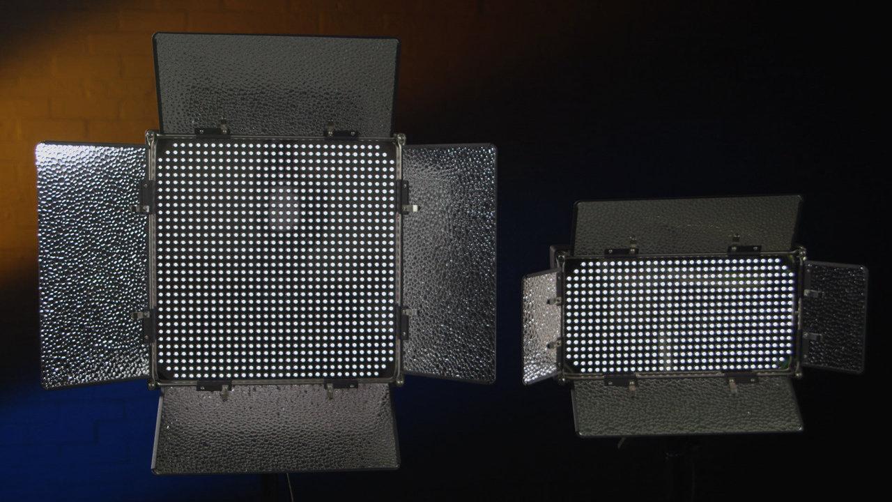 ID500-v2 & ID1000-v2 LED Studio Lights
