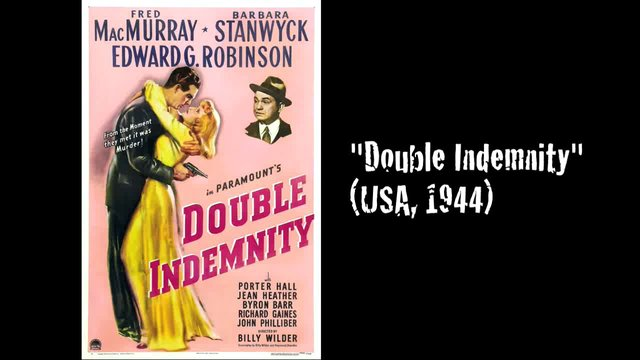 Movie mistakes Double Indemnity (1944)