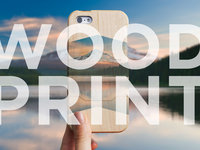 Introducing the Grove WoodPrint Case for iPhone 5S