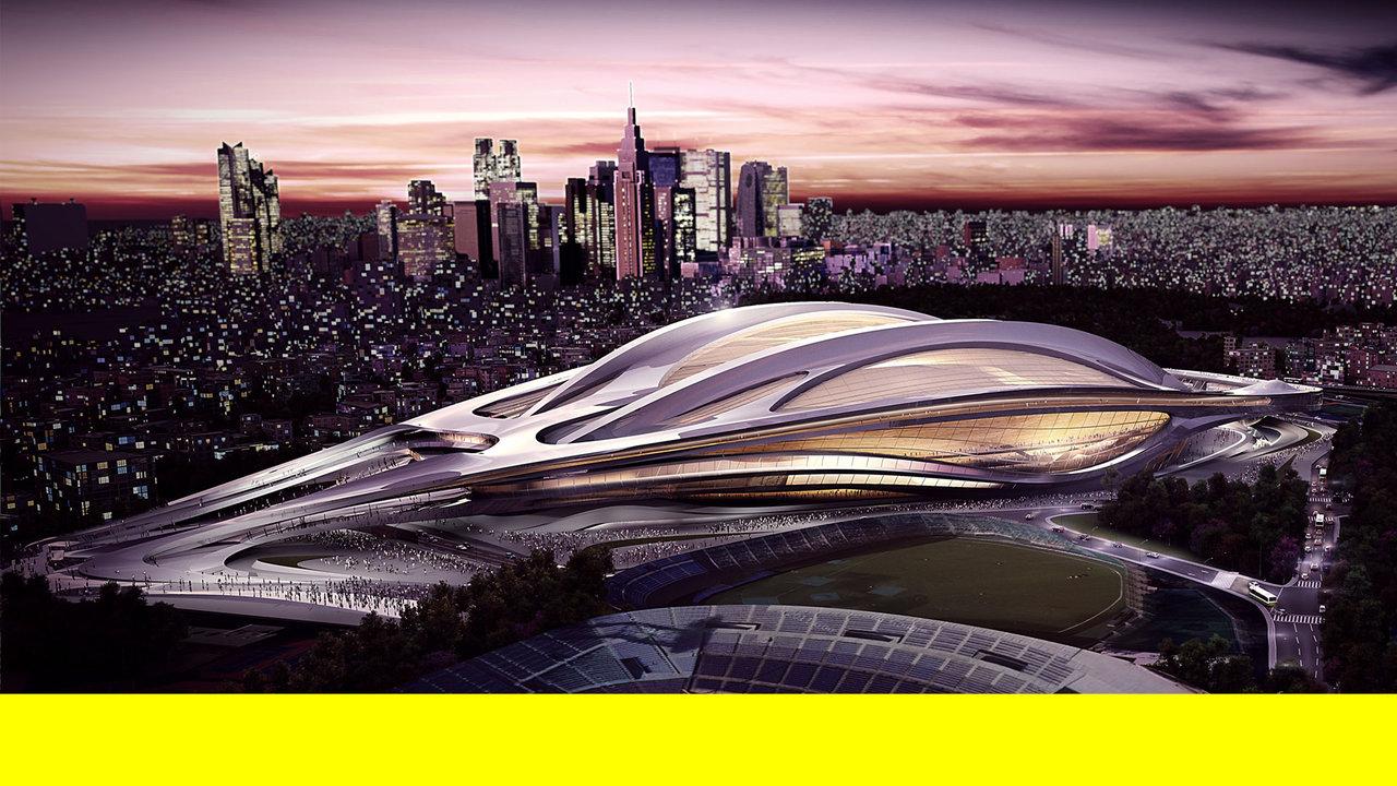 Олимпийский стадион Токио