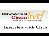 Cisco Live - Interview with Cisco