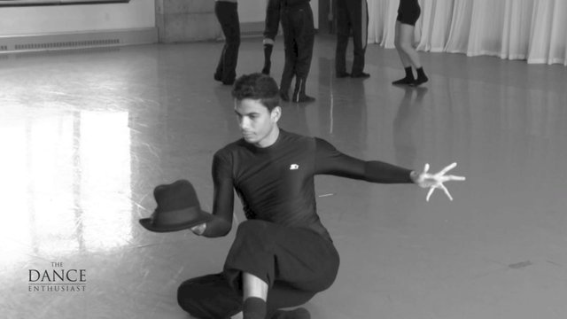 A Dance Enthusiast Minute:Dance Up Close- A Minute of A Man with A Hat Ballet Hispanico