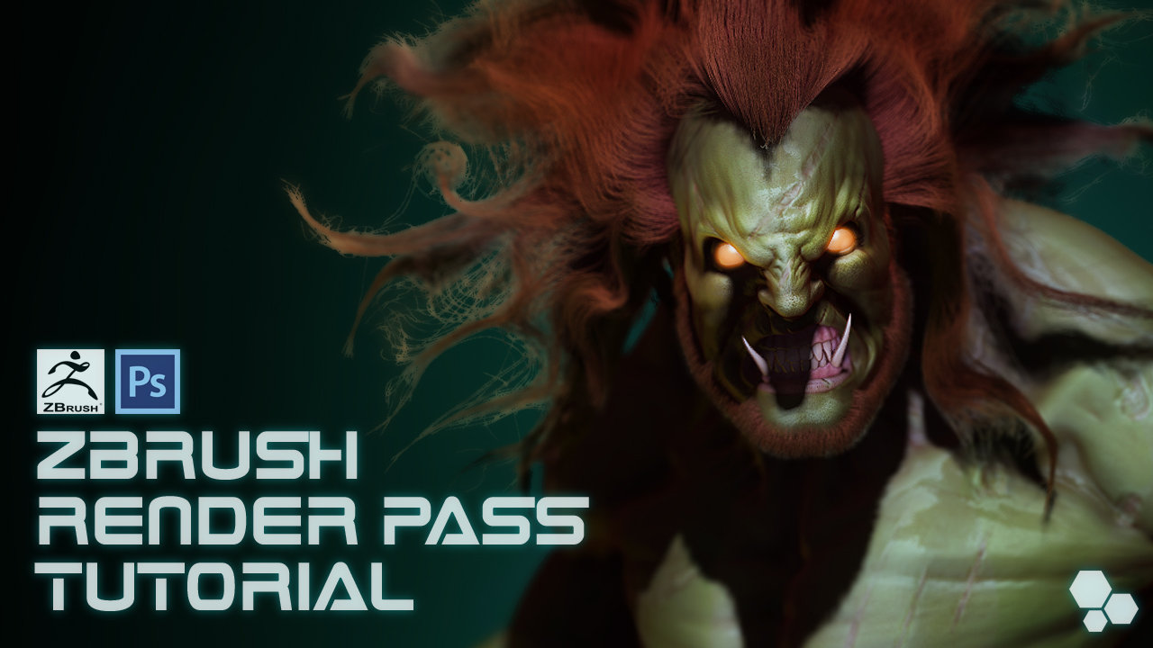 Blanka: zbrush and photoshop rendering tutorial