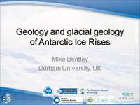 M Bentley - Geology and glacial geology of Antarctic Ice Rises