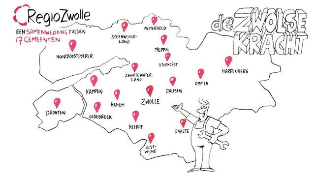 Het succes van Regio Zwolle - De Zwolse Kracht - Brainstud: Whiteboard animation