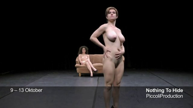 Nos naked on stage