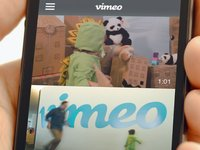 Kidzilla vs. The new Vimeo iOS app