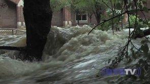 Hurricane Irene Storms Rye, NY
