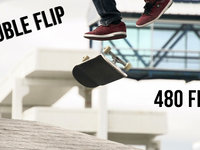 Slo Mo Double Flip - 480FPS