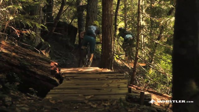 Whistler Autumn Trail Riding