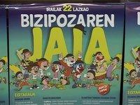 Igandean Bizipozaren jaia Lazkaon