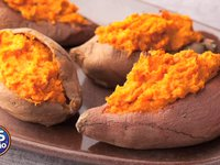 Sweet Potatoes and Apples to lose weight?
