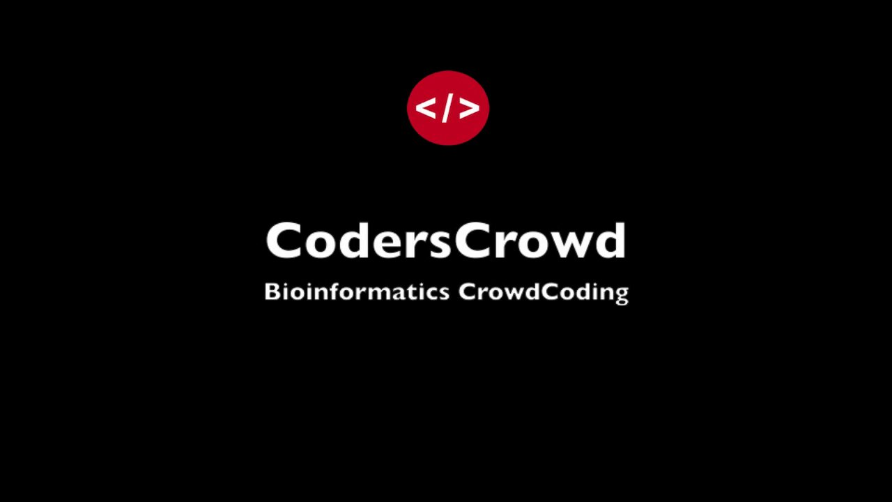 Bioinformatics CrowdCoding