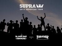SUPRA 2013 EUROPEAN TOUR