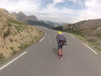 Unkle Downhill Skateboards French Alps
