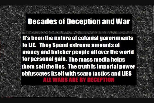 Decades of Deception