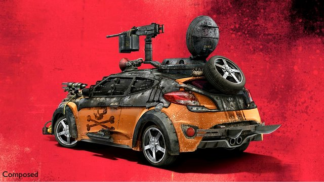 Hyundai Chop Shop Twd Print Campaign Veloster On Vimeo