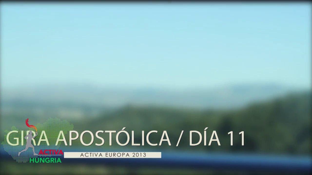 Activa Europa - Día 11 - Baja, Hungría - Bezdan, Serbia - Draz, Croacia - Pécs, Hungría