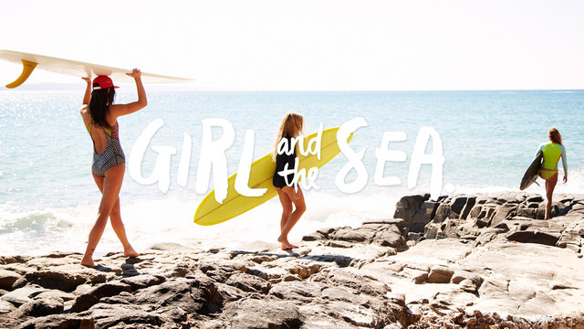 Girl and the Sea - Swimwear Twenty Fourteen Campaign