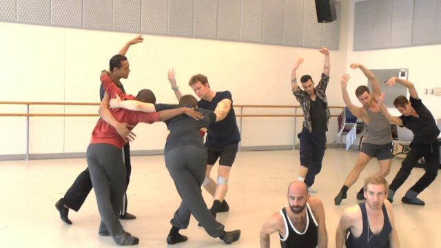 The Dance Enthusiast : Dance Up Close - Lar Lubovitch Dance Company