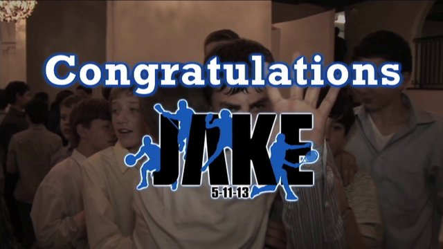 JAKE'S BAR MITZVAH HIGHLIGHTS