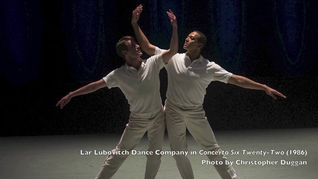 The Dance Enthusiast : Dance Up Close - Lar Lubovitch On Responding to AIDS