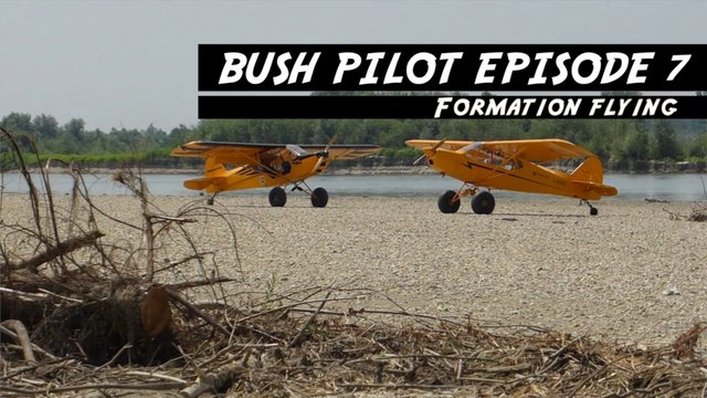 Bush Pilot Episode 7 Formation flying