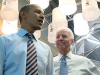 President Obama and Vice President Biden at Taylor Gourmet, October 4, 2013