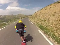 Unkle POV Raw DH Skate Run French Alps