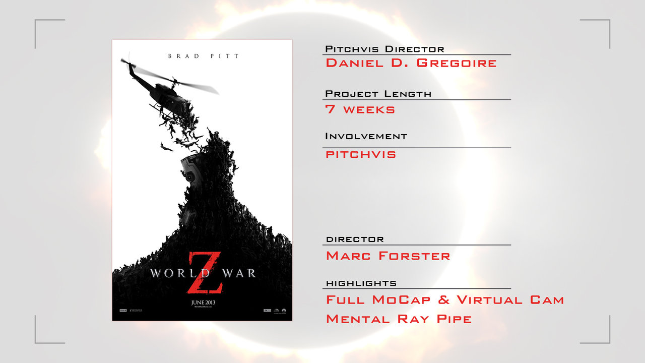 World War Z Pitchvis Reel