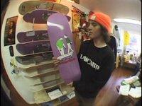 "SF Skate Club ""Skate with a Friend"" Mini Deck"