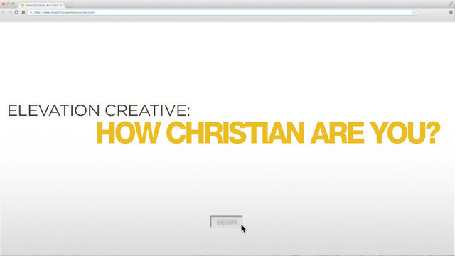 How Christian Are You? | Elevation Church