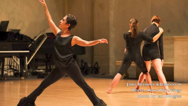 The Dance Enthusiast: Dance Up Close - Janis Brenner On Her Premise for Survival in Dance