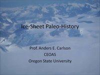 Frostbyte A Carlson: Ice-Sheet Paleo-History