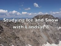 Frostbyte A Pope: Studying Ice and Snow with Landsat 8