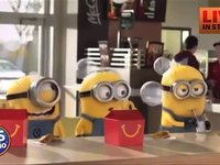 Books in the happy meals...