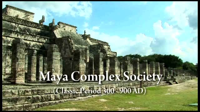 The History of the Mayan Culture