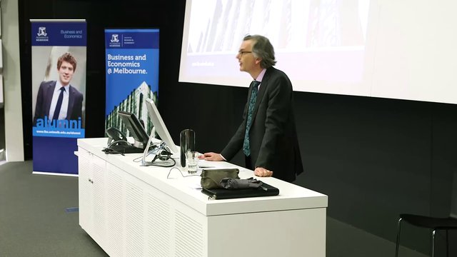 "The Inaugural John Freebairn Lecture in Public Policy, ""Governing the Ungovernable: The Market, Technology and You"""
