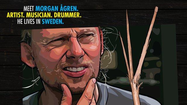 Morgan Ågren's Conundrum: A Percussive Misadventure